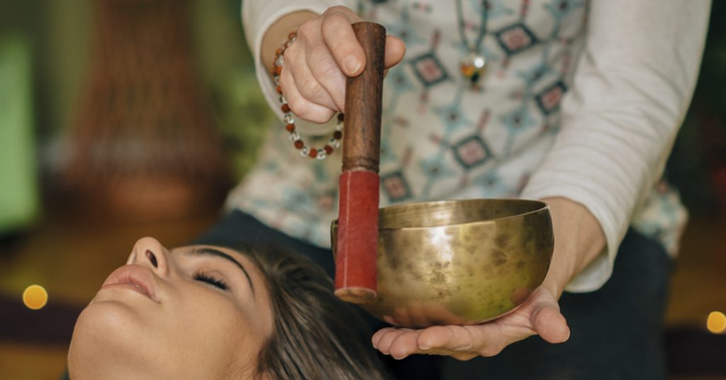 Sound healing, sound therapy, Tibetan singing bowl, Tibetan bowl, music therapy, ascetic training, resonate, pain management, sound bath Tibetan singing bowl